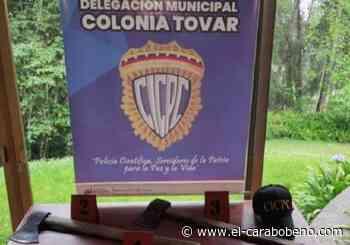 Esclarecido homicidio de un sexagenario ocurrido en la Colonia Tovar - El Carabobeño