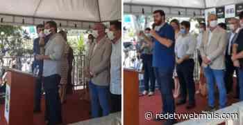 Governador em exercício visita Magé e Guapimirim, com propostas de ajuda as cidades - Rede Tv Mais