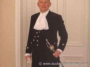 Aylesbury Vale man sworn in as Buckinghamshire's new High Sheriff - Buckingham Advertiser