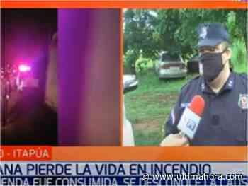 Septuagenaria fallece durante incendio de su vivienda en Cambyretá - ÚltimaHora.com