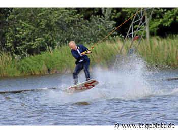 Baljer Konfirmand feiert auf dem Wakeboard - Nordkehdingen - Tageblatt-online