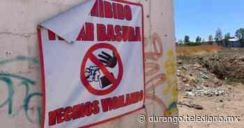 Aumenta contaminaciones en delimitaciones del fraccionamiento Montebello - Telediario Durango