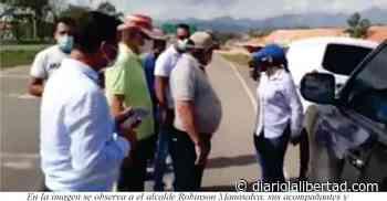 Alcalde de Aguachica le madrugó a los responsables de fotomultas a la altura del Gran Chalet - Diario La Libertad