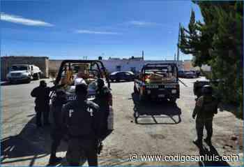 Aseguran más de una tonelada de pirotecnia en Charcas enero 7, 2021 * Se decomisaron 16 costales - Código San Luis