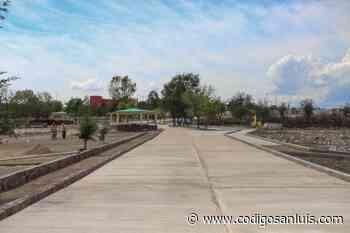 Rehabilitan parque El Meteorito en Charcas * Con una inversión de 16.4 millones de pesos, beneficia a - Código San Luis