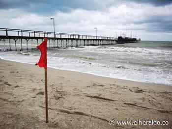 Cierran playas de Riohacha y Manaure por fuertes vientos - EL HERALDO