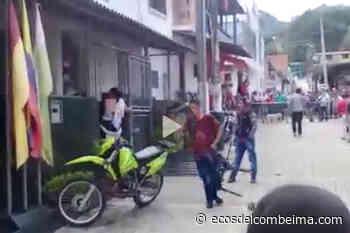 Borrachos atacaron la estación de Policía de Rioblanco   Patrimonio Radial del Tolima Ecos del Combeima Ibagué - Ecos del Combeima