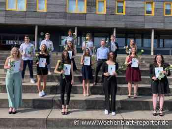Zahlreiche Preisträger geehrt: Abitur 2021 am Reichswald-Gymnasium - Wochenblatt-Reporter