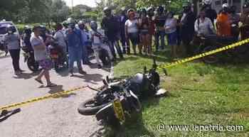 En moto se perdieron dos vidas en La Dorada y Riosucio - La Patria.com