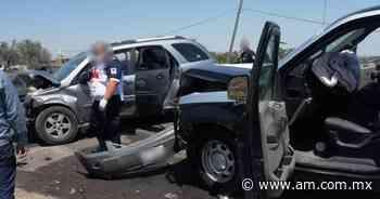 Abasolo: Patrulla de Valle de Santiago choca durante persecución - Periódico AM