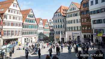 """Federle zieht Bilanz in Tübingen: """"Auch bei uns steigen die Zahlen"""""""