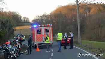 Radevormwald: Erste Fahrt mit Motorrad - Fahrer (41) auf L414 schwer verletzt - Westfälischer Anzeiger