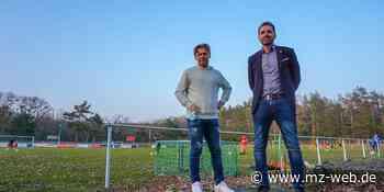 Fußballschule in Coswig: Zaubermaus Darius Wosz zeigt Trickkiste - Mitteldeutsche Zeitung