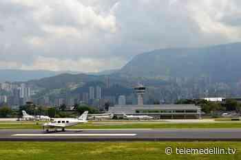 Aeropuerto Olaya Herrera, estricto en protocolos - Telemedellín