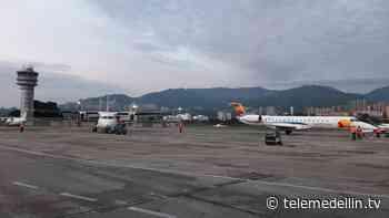 Aeropuerto Olaya Herrera espera movilizar cerca de 25.000 personas en Semana Santa - Telemedellín