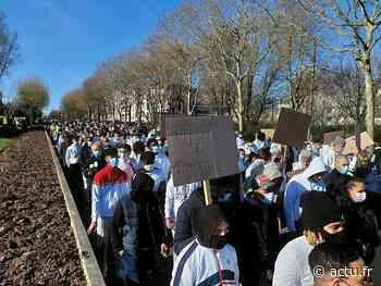 Saint-Thibault-des-Vignes. 600 participants à la marche blanche en mémoire d'Iderlindo - actu.fr