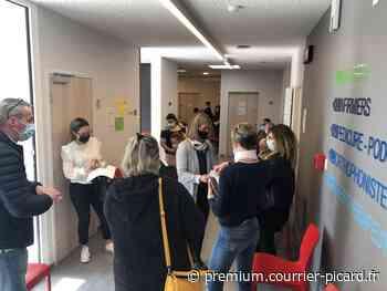 Affluence à la Maison de santé de Roye et à la maison de retraite de Montdidier pour la vaccination - Courrier picard