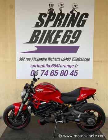 Ducati MONSTER 1200 2014 à 7900€ sur VILLEFRANCHE SUR SAONE - Occasion - Motoplanete