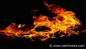 Russia: International terminal of Blagoveshchensk Airport catches fire - Catch News