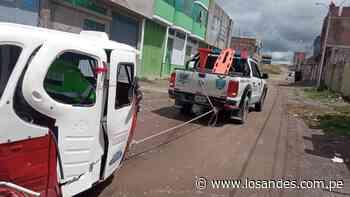 Choque frontal en mercado de Ilave – Los Andes - Los Andes Perú