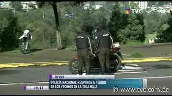 Policía Nacional lidera operativos en La Tola Baja - tvc.com.ec