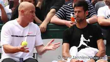 """Andre Agassi: """"Ich habe Novak Djokovic nicht geholfen, weil ..."""" - Tennis World DE"""
