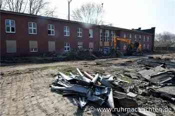 Alte Zechendirektion in Horstmar wird für Abriss vorbereitet - Ruhr Nachrichten