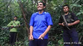Bei Gefecht verwundet: Rebellenführer in Perus Urwald gestorben