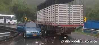 Transite por otra zona: Ocurrió un accidente en la vía Pasto-Sandoná - Diario del Sur