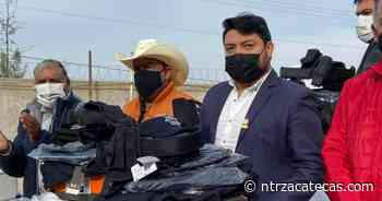 Entregan motopatrullas y uniformes a policías de Sombrerete - NTR Zacatecas .com