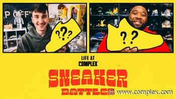 Harrison Nevel vs Unbreakable Kicks In A SneakerBattle | #LIFEATCOMPLEX - Complex