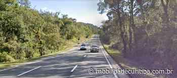 Acidente com carreta interdita parcialmente BR-116 em Campina Grande do Sul - Mobilidade Curitiba