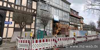 DRK-Kreisverband Quedlinburg saniert Fachwerkhaus Steinweg 34: 13 barrierefreie Zwei-Raum-Wohnungen für ambulant betreutes Wohnen - Mitteldeutsche Zeitung