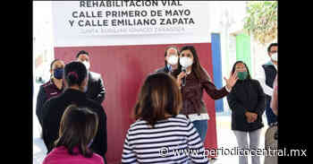 Ayuntamiento de Puebla realiza trabajos de mejoramiento vial y luminarias Ignacio Zaragoza - Periodico Central