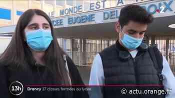 Covid-19 : la situation d'un lycée de Drancy inquiète - Actu Orange