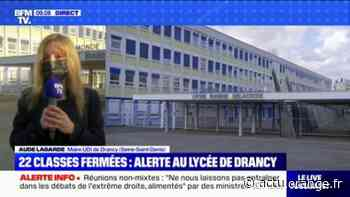 Lycée Delacroix de Drancy: la maire annonce une campagne de dépistage massif dès ce lundi - Actu Orange