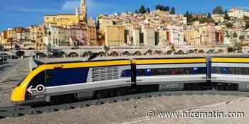 VIDEO. Menton comme vous ne l'avez jamais vue à bord d'un train miniature - Nice-Matin