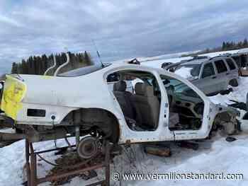 RCMP dismantle vehicle chop shop in Bonnyville, arrest two - Vermilion Standard