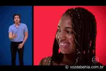 Estudante quilombola de Campo Formoso é homenageada pelo cantor Luan Santana no Caldeirão do Huck - Voz da Bahia