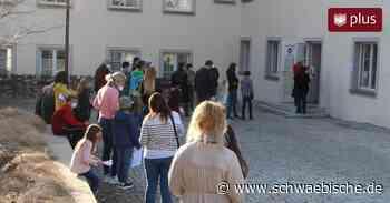 So lief die erste öffentliche Testung in Bad Wurzach - Schwäbische