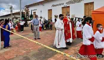 En Zapatoca no realizaron procesiones este domingo de ramos - Caracol Radio