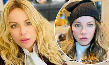Kate Beckinsale rocks a blonde wig in sultry new selfie as she continues to film comedy Guilty Party - Daily Mail