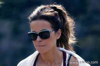 Kate Beckinsale's Personality Shines Through in the Wildest Pajamas & Ultra Chunky Sneakers on Set - Yahoo Lifestyle