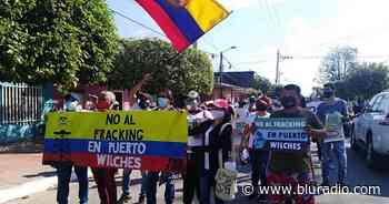 Cogieron a Puerto Wilches de experimento: rechazan nuevo piloto de fracking en Santander - Blu Radio