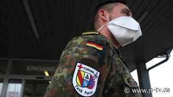 Bis zu 1000 Impfungen pro Tag: Erstes Bundeswehr-Zentrum impft nonstop