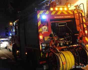 Un garage brûle à Chelles, 60 pompiers près de la rue du Tir - actu.fr