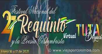 ▷ Festival Nacional del Requinto y la Poesía Costumbrista 2021 en Tuta, Boyacá - Ferias y Fiestas - Viajar por Colombia