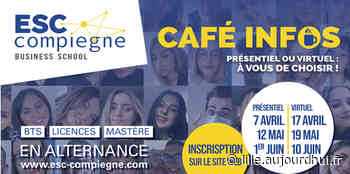 Café Infos Esc Compiegne - ESC Compiegne, Compiègne, 60200 - Sortir à Lille - Le Parisien Etudiant