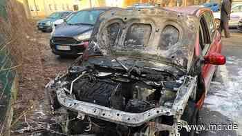 Ausgebrannt: Unbekannte zünden Autos in Sondershausen an | MDR.DE - MDR