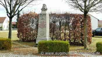 Plakatwerbung beim Kriegerdenkmal? Gemeinderat hat eine klare Meinung - Augsburger Allgemeine